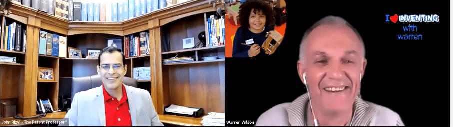 John Rizvi Interviews Australian Inventor Warren Wilson